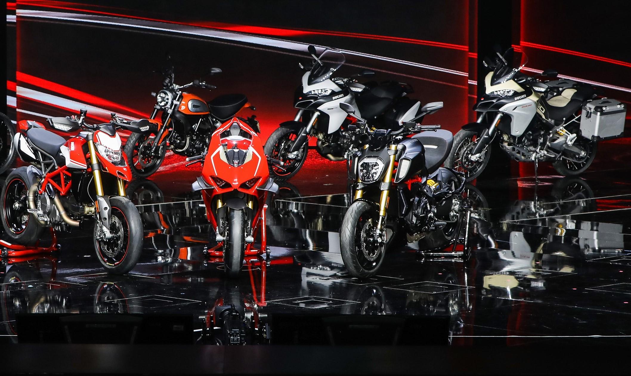 Ducati Season Opening: descobre a gama Ducati 2019