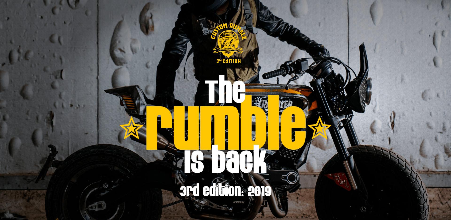 O Custom Rumble está de regresso para a 3ª edição