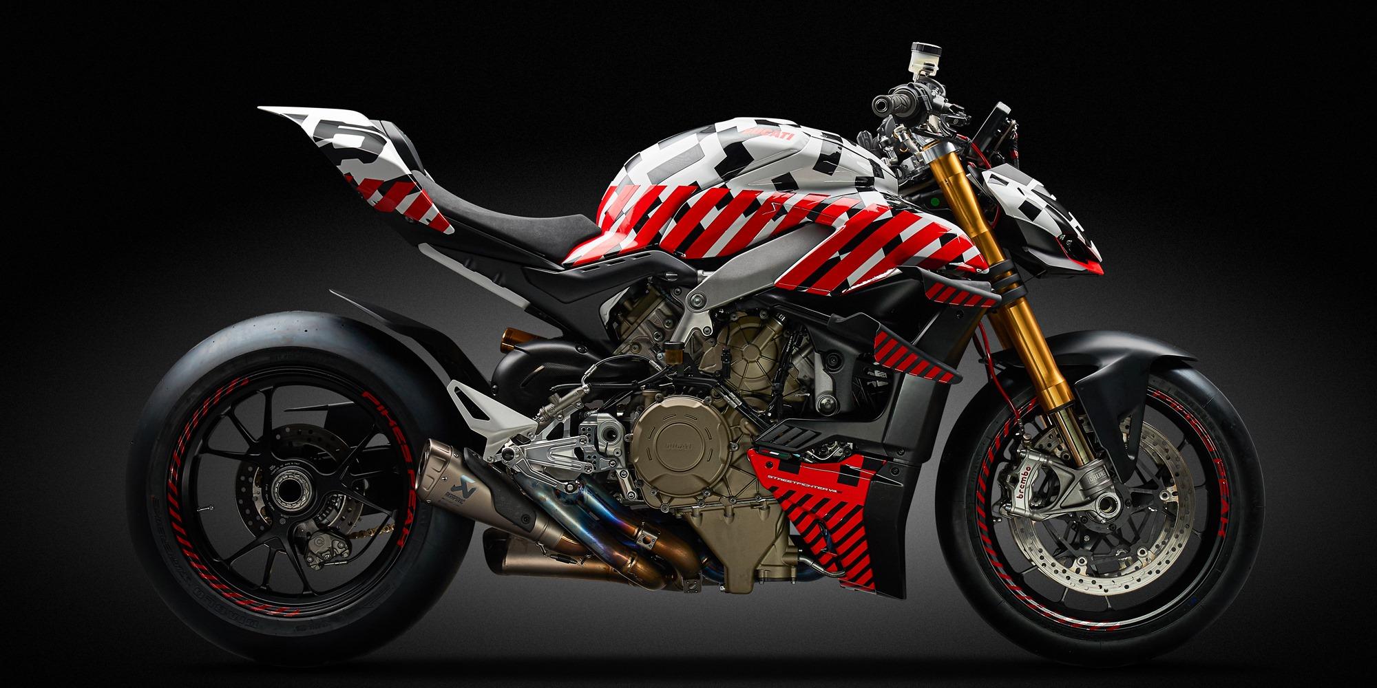 A Ducati em Pikes Peak com a Streetfighter V4