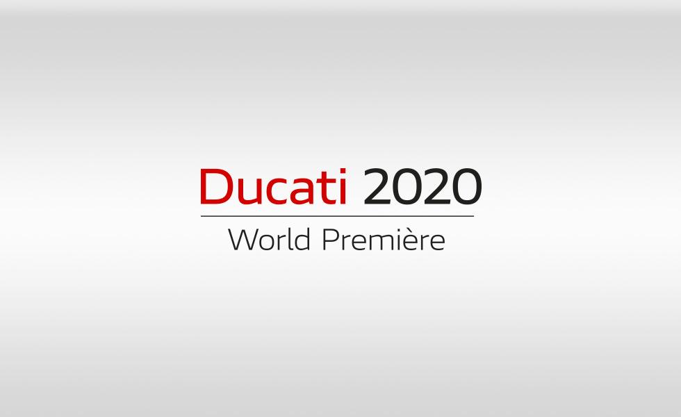 Ducati World Première 2020: streaming em direto a 23 de outubro, 2019
