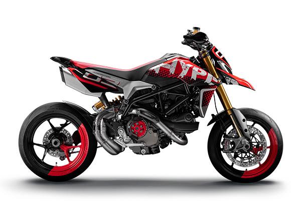 Join Ducati e ganha uma Hypermotard 950 com uma decoração especial