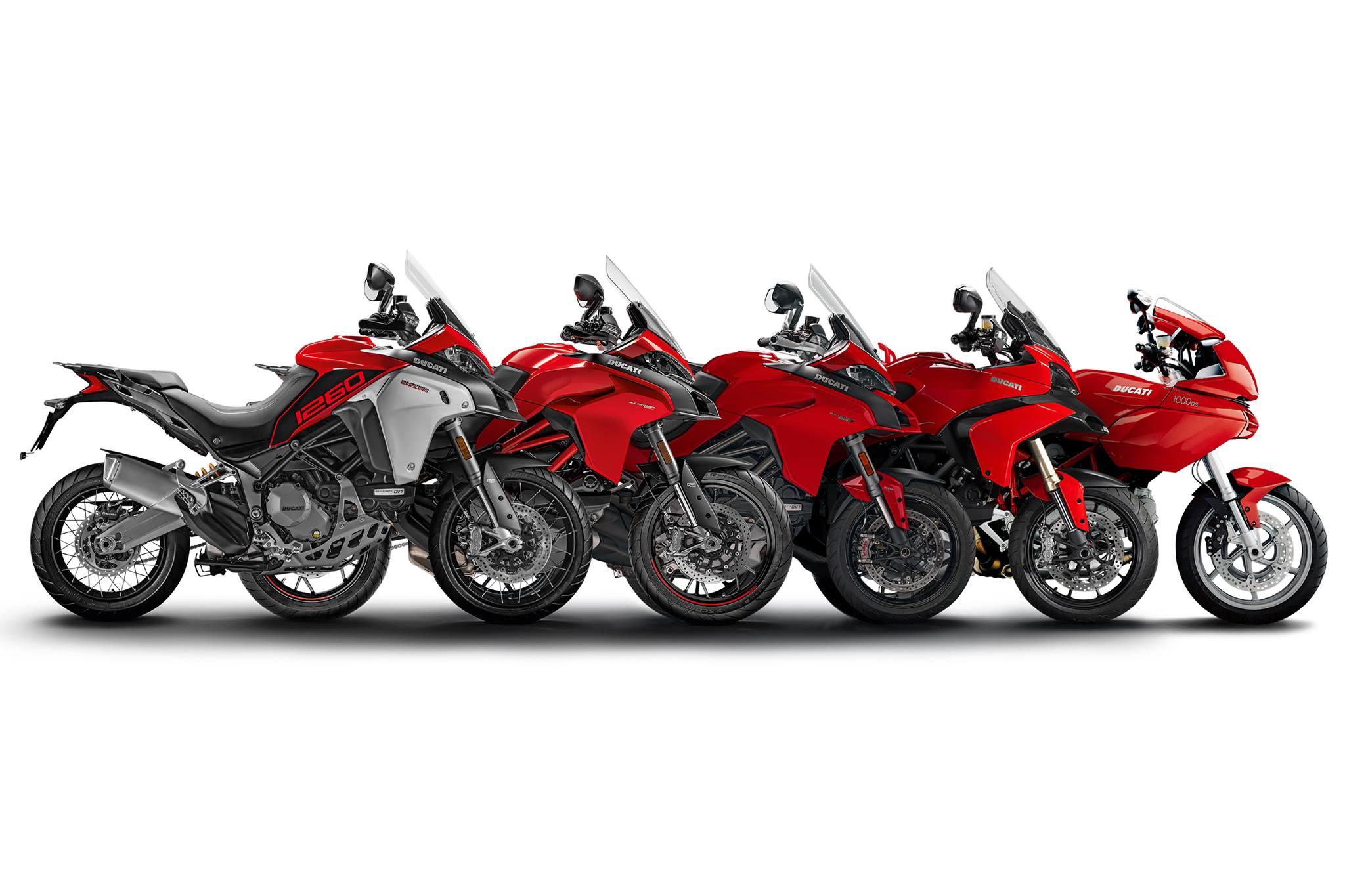 A Ducati Multistrada atinge a marca das 100.000 unidades