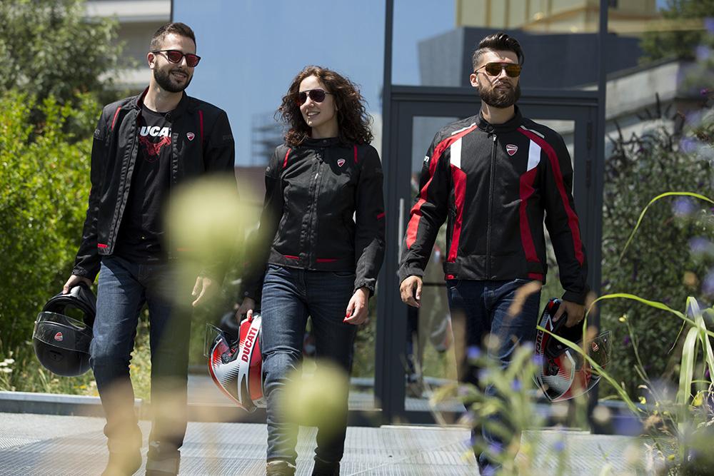Blusões Ducati para o verão 2020