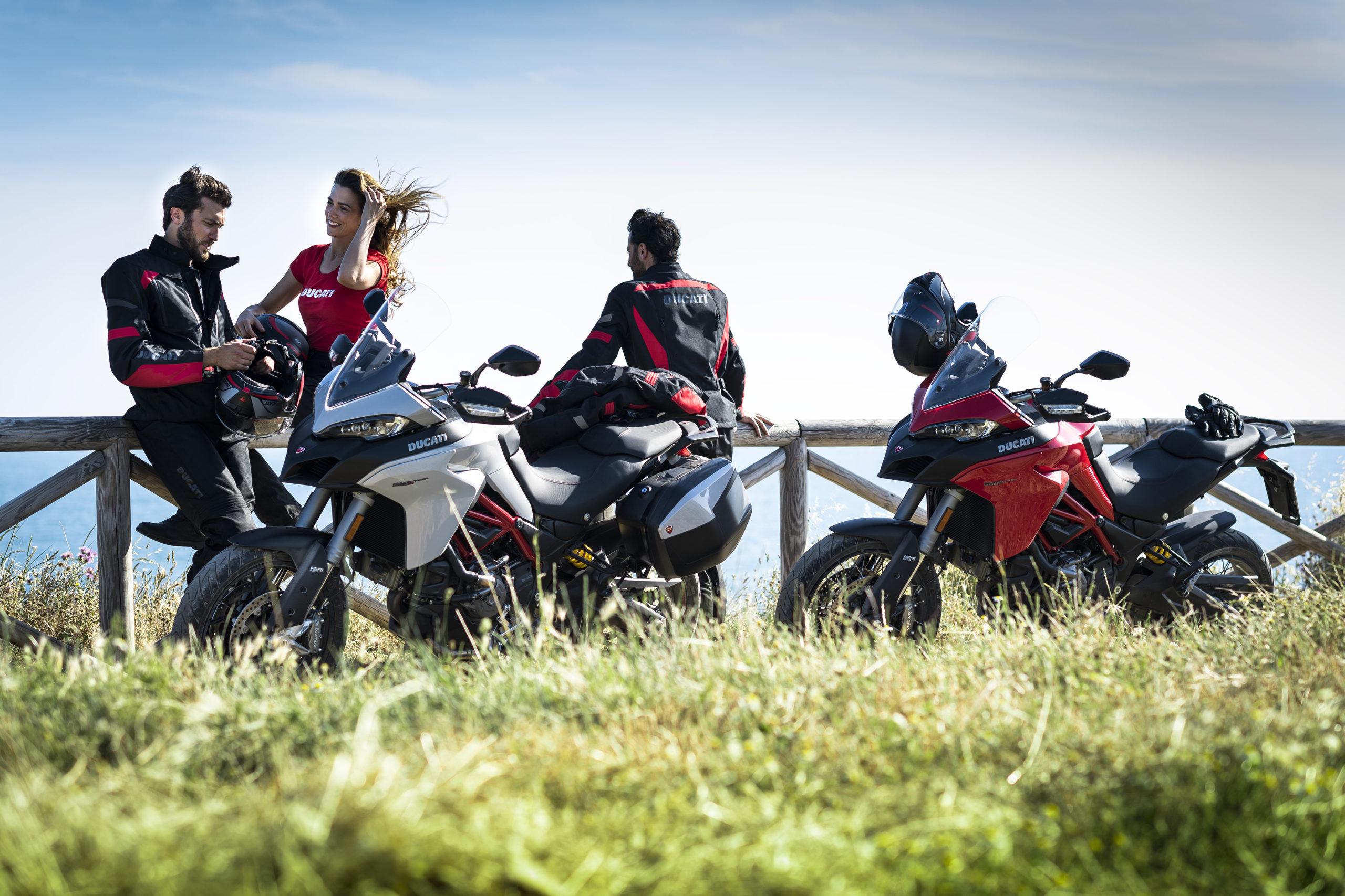 Ducati touring, para viajar com segurança e conforto