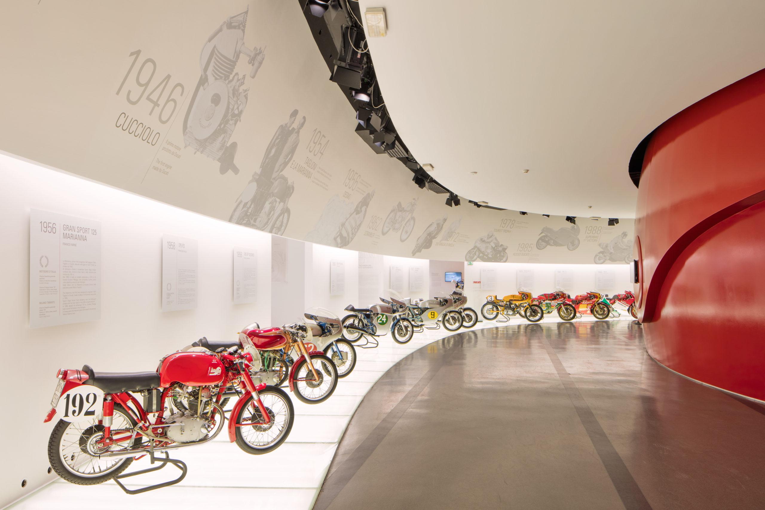 Museu Ducati reabre com novas experiências