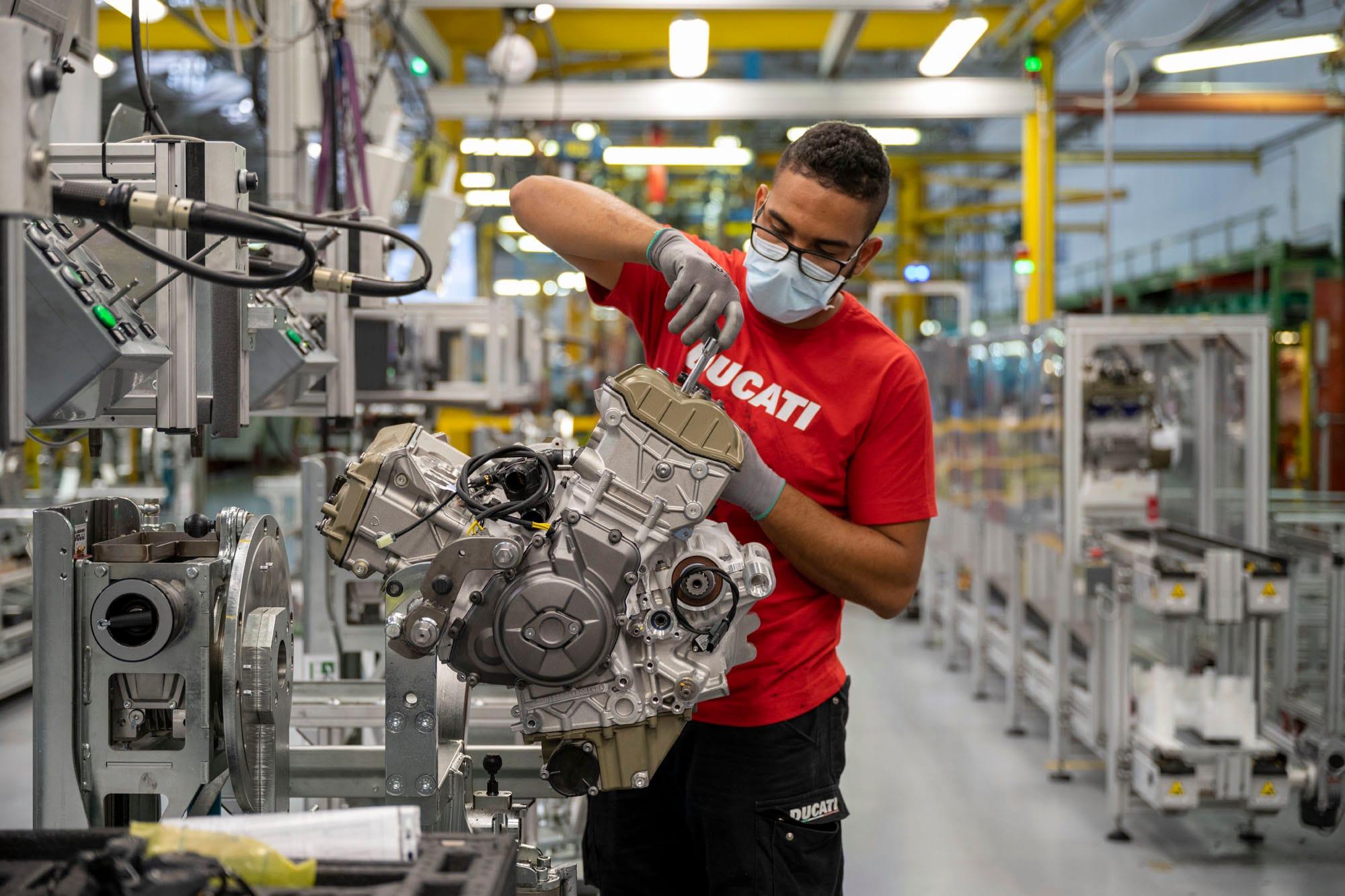 As visitas à Fábrica Ducati estão de volta
