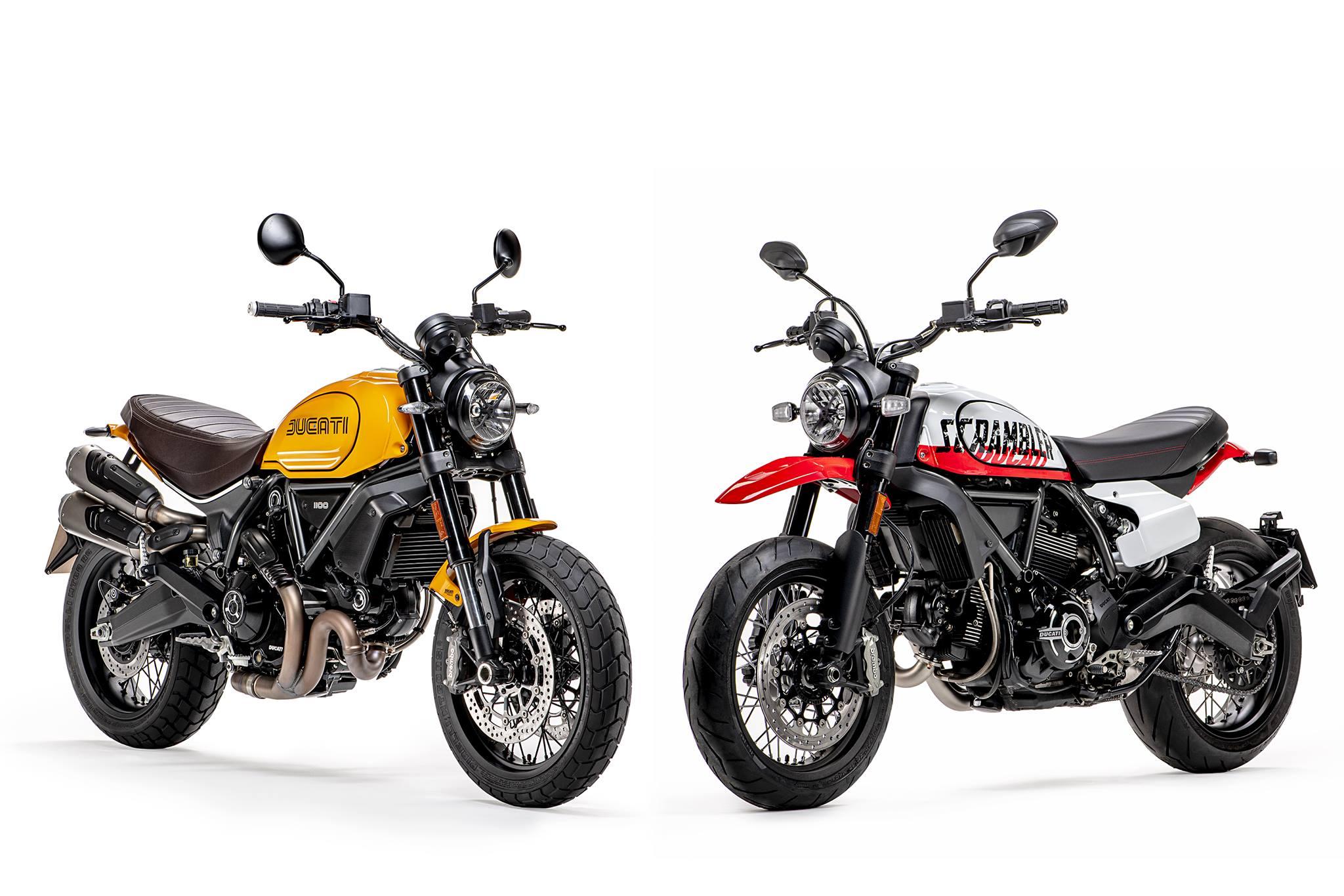 Novos modelos Ducati Scrambler para 2022